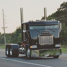 Coe Freightliner custom with stacks Big Rig Trucks, Semi Trucks, Cool Trucks, Cool Cars, Mack Trucks, Dodge Diesel, Diesel Trucks, Dodge Cummins, Custom Big Rigs