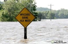 Don't pass in High water