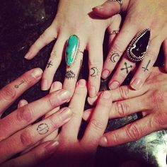 These all look really cool! And I love their rings too!! <3
