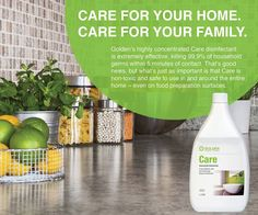 If you want your home back in the healthy, pristine state you like it, you need a detergent and disinfectant that's safe and friendly for humans but deadly for germs! If it's guaranteed quality and superb performance you demand, Care is your weapon! Your Family, Good News, Household, Weapon, Africa, Healthy, Shopping, Weapons, Health