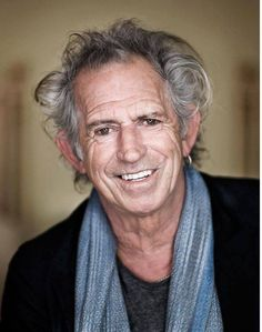 The face of true, true story - Keith Richards
