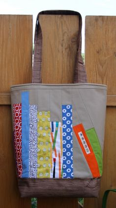 Library Tote Pattern