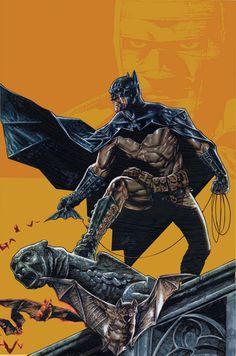 Batman by Lee Bermejo in BATMAN: GOTHAM KNIGHTS #50