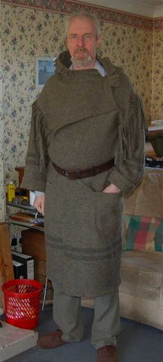 Thread: Making a Capote (Blanket Coat). Diy Clothing, Clothing Patterns, Capote Coat, Hudson Bay Blanket, Hunting Supplies, Blanket Coat, Wool Overcoat, Cool Gear, Outdoor Outfit