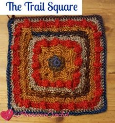 The Trail Square, Moogly CAL 2016 #19
