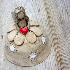Ceramic Clay, Ceramic Pottery, Pottery Art, Pottery Angels, Pottery Handbuilding, Hand Built Pottery, Wheel Thrown Pottery, Pottery Classes, Pottery Designs