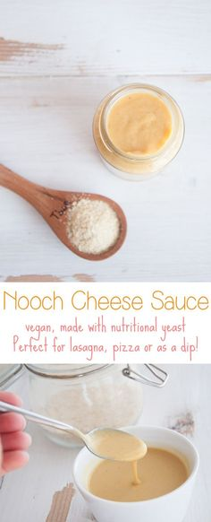 Nooch Cheese Sauce   ElephantasticVegan.com