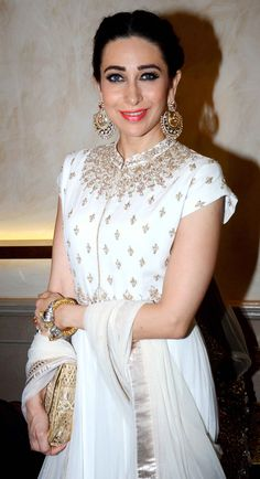 Karisma Kapoor at a store launch. #Bollywood #Fashion #Style #Beauty