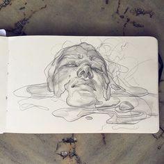 WEBSTA @ eleeza - Melty sketch