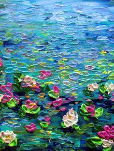Luiza Vizoli,,,,reminds me of Monet.