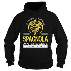 SPAGNOLA An Endless Legend (Dragon) - Last Name, Surname T-Shirt