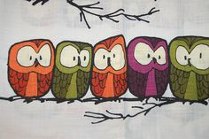 five owls from Hanna Andersson