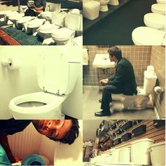 Pillar of Saltiness ‏@violue  Apr 23 I made it, and it's beautiful.  Misha + Toilet aesthetic.