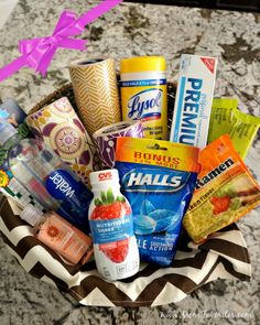 Create this ultimate Get Better Gift Basket for a loved one this winter season. Get the complete list of supplies for your wellness basket here! #ad #PreparedWithCVS
