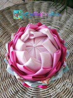 Flower in a pot fabric pot flower pot flower tabletop decor Flower Ball, My Flower, Flower Pots, Unique Housewarming Gifts, Quilted Ornaments, Styrofoam Ball, Heart Ornament, Teacher Appreciation Gifts, Fabric Decor