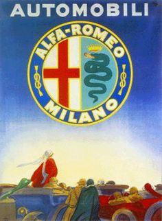 Marcello Dudovich 1922_Automobili Alfa Romeo_Raccolta Salce, Museo Bailo, Treviso  www.tommyholiday.it