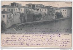 Spetses - Panorama - Maisons - 1900 - Edit. Pallis & Cotrias, Athènes n° 959 - envoyée à Tournai, Belgique