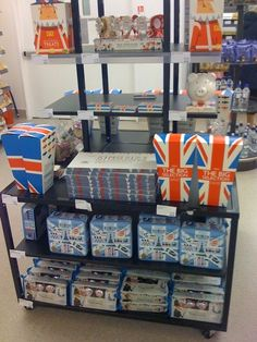 Thanks to @nelliejean on Twitter for sharing this display of #unnecessaryunionjacks in M and S, KY1 postcode: Fife, Scotland