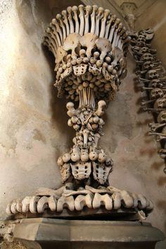 There Is A Church Decorated With The Bones Of 40,000 People