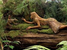 """""""Forest"""" Wood Carving"""