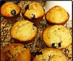 Macaroni Menu: Banana Blueberry Muffins | Macaroni Kid