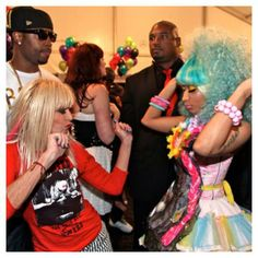 Betsey and Nicki partying on