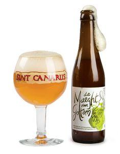 De Maeght van Gottem Het nieuwste Sint Canarus bier is heel geslaagd en luistert naar de naam Maeght van Gottem Als je er nog niet van gehoord hebt zal dat niet lang meer duren.  De Maeght is een zuiver natuurbier,blond , 7 vol.% alc., met de fijnste hoppe en zelfs een hoppe-belletje in de fles. In feite is het niet meer en niet minder dan een wereldwonder.