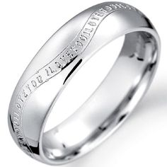 paradise wedding ring