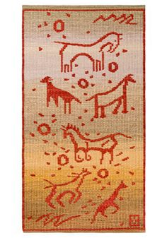 """""""Painted Horses"""" - 30 x 56 (inches) Artist Connie Enzmann-Forneris Painted Horses, Tapestry Design, Tapestry Weaving, Art Forms, Fiber Art, Hand Weaving, Things To Come, Rugs, Artist"""