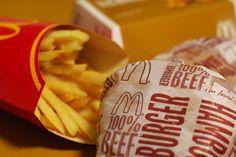 Food  McDonald's BURGER&Potato