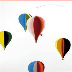 Balloon mobile - multi - Flensted Mobiles