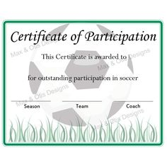 Certificate Of Participation Template Pdf Certificate Of Participation Template Pdf . Certificate Of Participation Template Pdf . 330 Best Editable Certificates Awards Images In 2020 Certificate Of Participation Template, Free Printable Certificates, Award Certificates, Certificate Templates, Free Printables, Soccer Pro, Soccer Coaching, Kids Soccer, Soccer Training