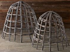Garden Cloches Protect Developing Seedlings --> http://www.hgtvgardens.com/tools-and-products/6-stunning-garden-cloches?soc=pinterest