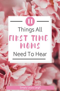 Tips, advice, and encouragement that all first time moms need to hear to help make navigating life with a newborn baby a little easier.