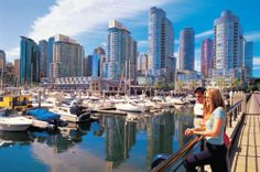 Coal Harbour, Vancouver, British Columbia