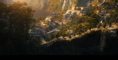 The Dwarves Journey to Rivendell ~ The Hobbit