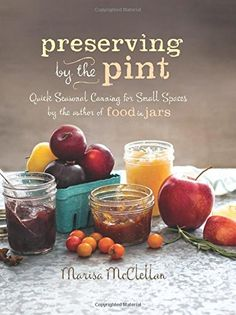 I made the Thai basil pesto from this book. Preserving by the Pint: Quick Seasonal Canning for Small Spaces from the author of Food in Jars by Marisa McClellan