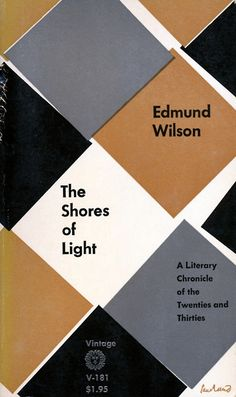 Cover design by Paul Rand.   I bought this title in the 1960s when I had started, rather late in the day, to collect everything written by Edmund Wilson.