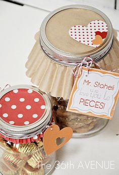 Reese's Peanut Butter Cup Cookies in a Jar. | The 36th AVENUE