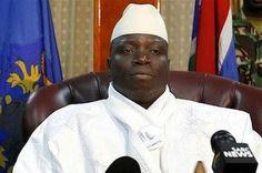 """El dictador de Gambia exige a las mujeres quitarse el pantalón y la ropa interior. Yahya Jammeh asegura que las mujeres del país """"están enfrentándose a la infertilidad y a todo tipo de enfermedades"""". """"Vuestras partes privadas necesitan algo de aire"""". El Diario Vasco, 2015-12-12 http://www.diariovasco.com/internacional/africa/201512/12/dictador-gambia-exige-mujeres-20151212151756.html"""