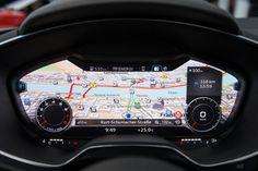 Nuova Audi TT, ecco gli interni con la strumentazione solo digitale