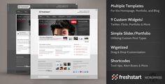 Free Download Premium Wordpress Themes, Plugins, Tools, Templates: FreshStart – Premium Theme by ThemeForest Free Download