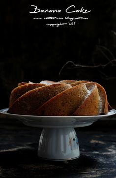 BANANA CAKE AGAIN - catatan-nina