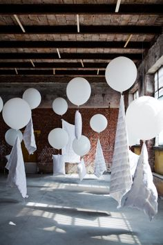 Can you imagine walking into a space filled with these? Perfect for ceremony decor #BarneysNYbridal