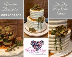 👩🏻‍🍳 THE BIG DAY CAKE STUDIO 👩🏻‍🍳  Visit our Gallery www.sugarcraftsupplies.co.za/gallery  Specializing in Wedding and Special Occassion Cakes Sugar Craft, Big Day, Cakes, Table Decorations, Studio, Gallery, Wedding, Valentines Day Weddings, Study
