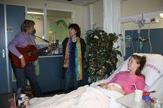 Regenboogboom in het ziekenhuis