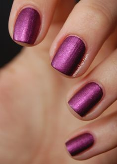 Pure Ice Touch Me Softly matte suede nail polish
