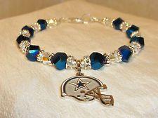 Dallas Cowboys Bracelet Jewelry Logo Charm Nfl