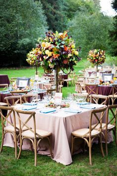 Our outside seating area would look fab decorated like this!  photography: Janae Shields Photography / janaeshields.com
