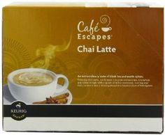 Café Escapes Chai Latte, K-Cup Portio...  Order at http://www.amazon.com/Caf%C3%A9-Escapes-Portion-Brewers-24-Count/dp/B004QDA8WC/ref=zg_bs_16310231_61?tag=bestmacros-20